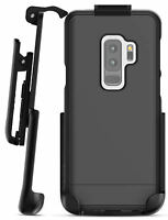 Samsung Galaxy S9 Plus Belt Clip Case, Slim Protective Cover w/ Holster - Black