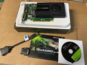 NEW PNY NVIDIA Quadro K2000 2GB PCIe Graphics Video Card VCQK2000-T FAST SHIP