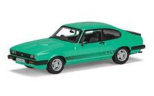 Corgi Vanguards Ford Capri Mk3 3.0s Peppermint Sea Green Car Model Va10815a 1 43