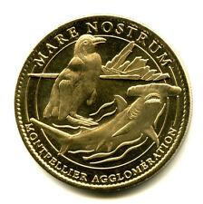 34 MONTPELLIER Mare Nostrum, Manchot et requin-marteau, 2009, Arthus-Bertrand