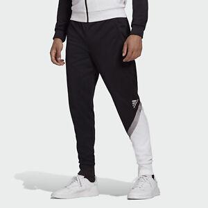 adidas TAN Club Home Mens size XL Black/White Athletic Pants FREE SHIPPING