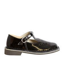 NEW Everflex Jilly 2 Girls Leather T-Bar School Shoe