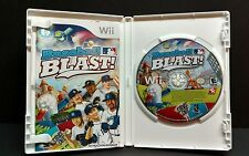 BASEBALL BLAST --- Wii Complete w/ Box Manual MLB