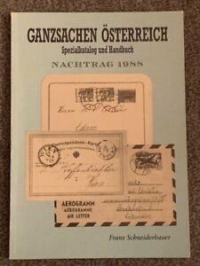 Schneiderbauer - Ganzsachen Österreich - Nachtrag 1988