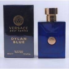 Versace Pour Homme Dylan Blue EDT for Men 3.4oz / 100ml *NEW IN BOX*