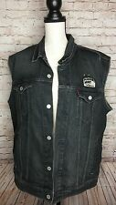 Levis × Jim Phillips Vest Screaming Hand Denim Vest Pleasure Point CA Sz. XL /FA