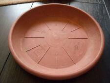 Soucoupe Ø26 cm pour pot de fleur marron