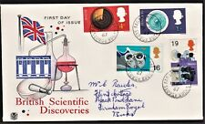 GB 1967 STUART FIRST DAY COVER BRITISH SCIENTIFIC DISCOVERIES SG752-755