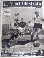 Lo SPORT ILLUSTRATO 21/09/1950 Milan Sampdoria 2-1 Nordhal [GS35]