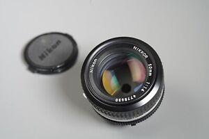 Nikon Nikkor AI 50mm f/1.4 Manual Focus Lens