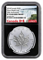 2018 Canada Mother Nature/'s Morning Dew 1 oz Silver NGC PF70 UC ER SKU49431