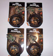 Master Lock Python Cables  Fits CAMLOCKbox Moultrie Security Box 4 Keyed Alike