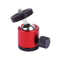 1/4 Mini Balls Heads 360° Holder Mount For SLR-Camera Tripod Hot Shoe Adapter