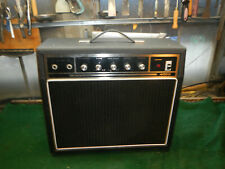 Vintage 1970's Guitar Amplifier Solid State Amazing Distortion Works Excellent