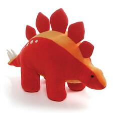 *NEW* GUND - DINO TAILSPIN RED STEGOSAURUS DINOSAUR SOFT PLUSH TOY 38cm