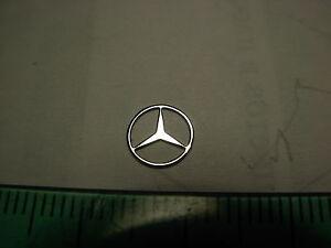 1/18 Mercedes Benz Kofferraum Stern Star modell MB Nickel Emblem 1/16 1/24 MB