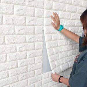 2x pannelli da parete 3D effetto pietra carta da parati 70x77 cm schiuma PE casa