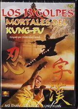 LOS 13 GOLPES MORTALES DEL KUNG-FU de Chin King Ming DESCATALOGADO