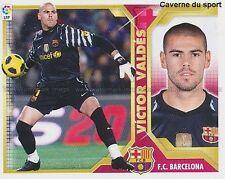 N°01 VICTOR VALDES FC.BARCELONA STICKER PANINI CROMO LIGA 2012