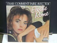 ELODIE ROME J'sais comment faire avec toi PUB 13205