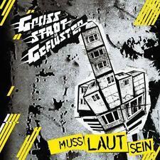 GROSSSTADTGEFLüSTER - MUSS LAUT SEIN   - CD NEUWARE