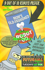 Futurama 9 out of 10 Robots . . . Bender 1999 FOX TV Print Ad