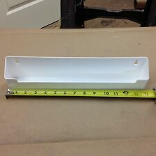Knape & Vogt PSF14-W White Plastic Sink Front Tip Out Tray Single