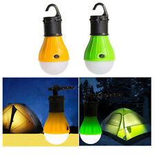 1x 3LED Longlasting Fishing Lantern Lamp Outdoor Hanging Camping Tent Light Bulb