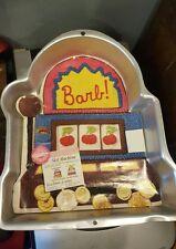 New listing Wilton Slot Machine Cake Pan Cherries Vegas Vintage #2105-2033 Gambler