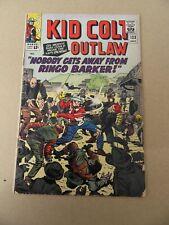 Kid Colt Outlaw 123  . Marvel 1965 . VG - minus