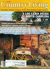 1995 Country Living Magazine: Log Cabin Picnic in North Carolina/Sheets