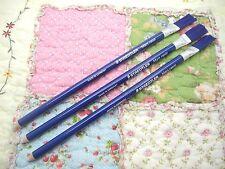 3 X STAEDTLER Mars Rasor Plastics Rubber Eraser Pencil with Brush 526 61(Germany