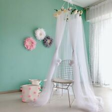 Infants Baby Toddlers Bed Cover Canopy Bedcover Mosquito Net Bed Dome Rose Tent