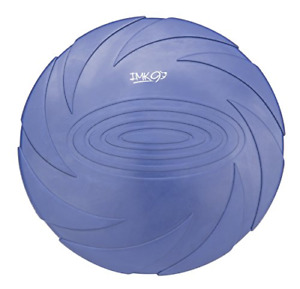 Dog Frisbee Indestructible Disc - for Large Dogs - Soft Rubber Frisbees for – –
