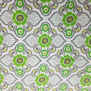 Medallion Fabric 1231702HL Hobby Lobby Screenprint Cotton 2 yds Green Gray Ikat