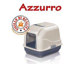 MY CAT Lettiera Azzurra Toilette chiusa per Gatti Imac 50x40x40