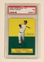 MICKEY MANTLE 1964 Topps Stand-Up PSA 7 NM Near Mint New York Yankees Card