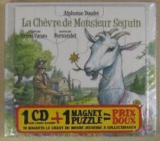 Alphonse Daudet CD La chèvre de Mr Seguin Fernandel 2008