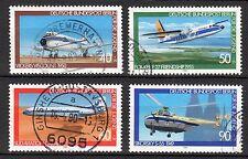 Germany / Berlin - 1980 Youth welfare / Airplanes - Mi. 617-20 VFU