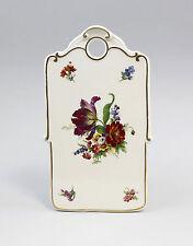 88284 Porzellan Brettchen Barock Blume violett Kämmer Thüringen
