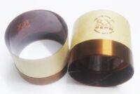 "1 pcs ID: 76.2mm 3"" KSV 8 ohm Woofer bass loudspeaker horn speaker 2F voice coil"