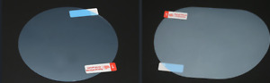 JAGUAR CAR SIDE MIRRORS WATER REPEL & ANTI-FOG/FROST FILM ROUND OVAL
