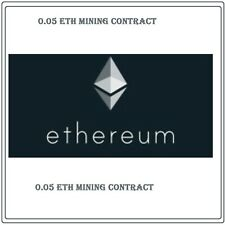 0.05 Ethereum(ETH) CRYPTO MINING-CONTRACT (0.05 ETH)