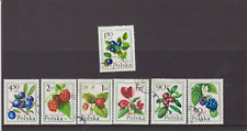 Berries stamp set from Poland