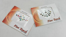 Two Packs of Very Pretty Fancy Indian Bindi  - Party Wear - BNIB