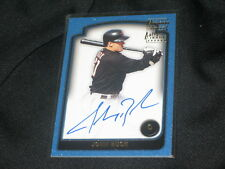 JOHN BUCK ASTROS STAR CERTIFIED AUTHENTIC SIGNED AUTOGRAPHED BASEBALL CARD