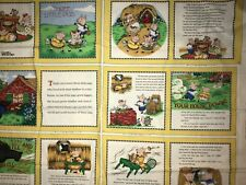 The Three Little Pigs Soft Cloth Fabric Panel Book By Mary Engelbreit