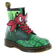 TMNT Dr Martens Raph 1460 8-Oeillet Teenage Mutant Ninja Turtle Bottes. Taille UK 4