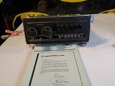 NOS 1970's Motorola Mopar Dodge Style Radio D3RMX9 AM FM MPX Chrysler Mopar