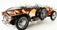 Art Deco Antique Vintage Mid-Century Rolls Royce Rare Copper Body Car 1930-1940s